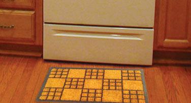 Rubber Moulded Brush Mats (Rectangular / Semi-Circle)